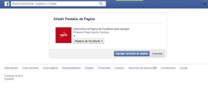 Como integrar Pinterest en Facebook 2