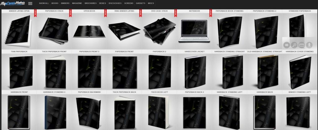 Como hacer portada libro online