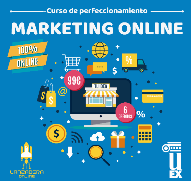 [:es]Curso de Perfeccionamiento de Marketing Online en la Universidad de Extremadura[:]