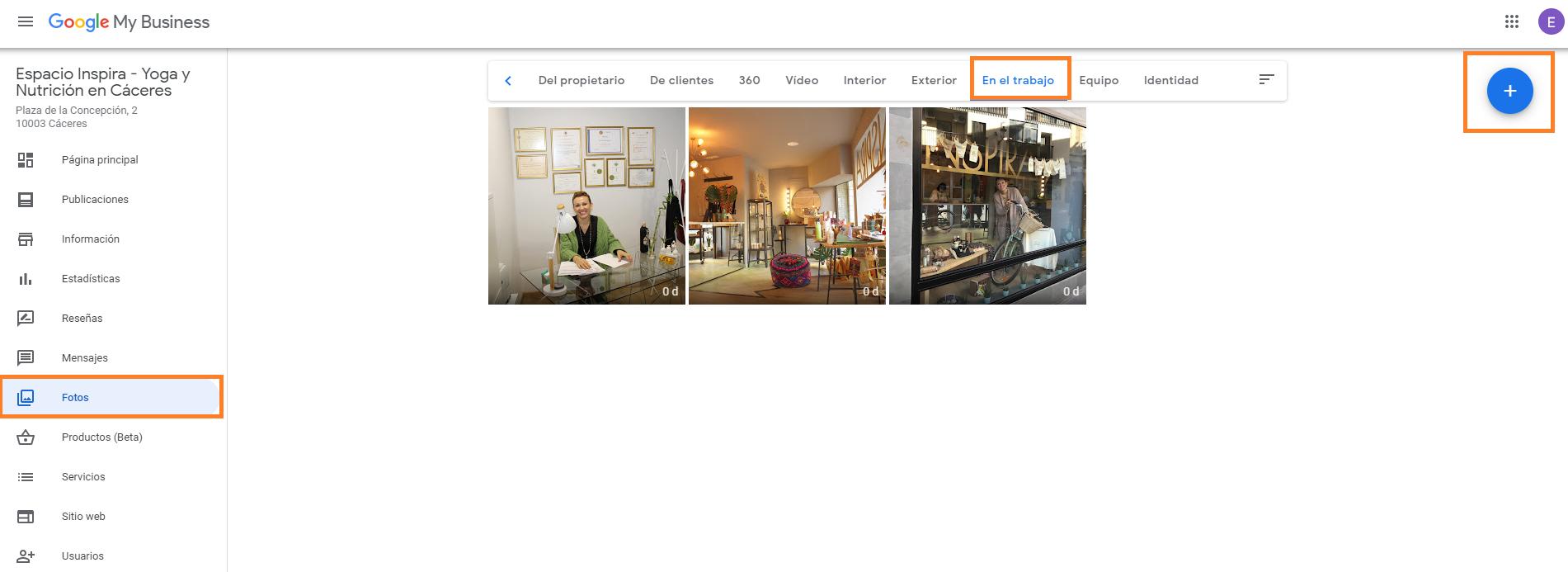 buena FOTOS DE equipo en accion como crear buen perfil google my business