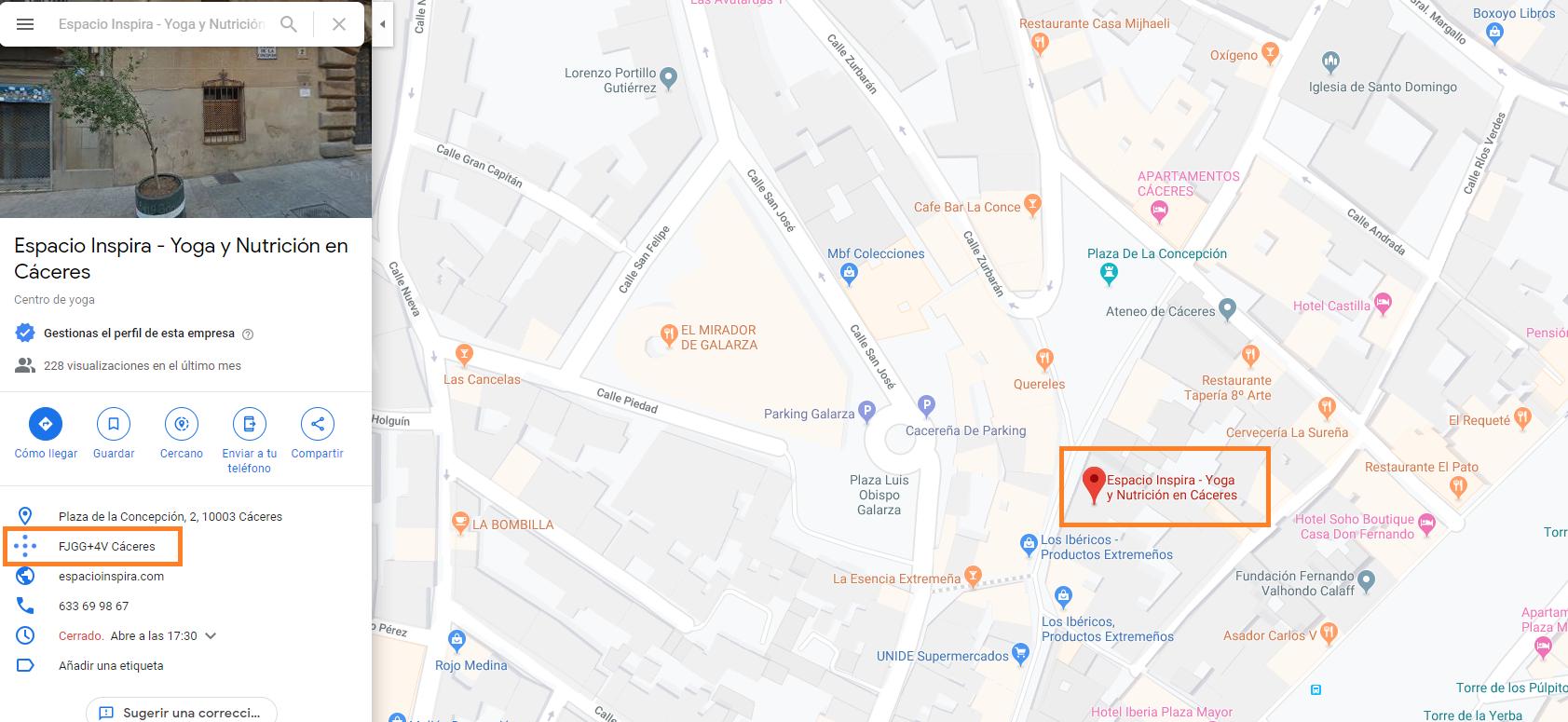 como crear buen perfil google my business poner bien pin de google maps comprobar ubicacion