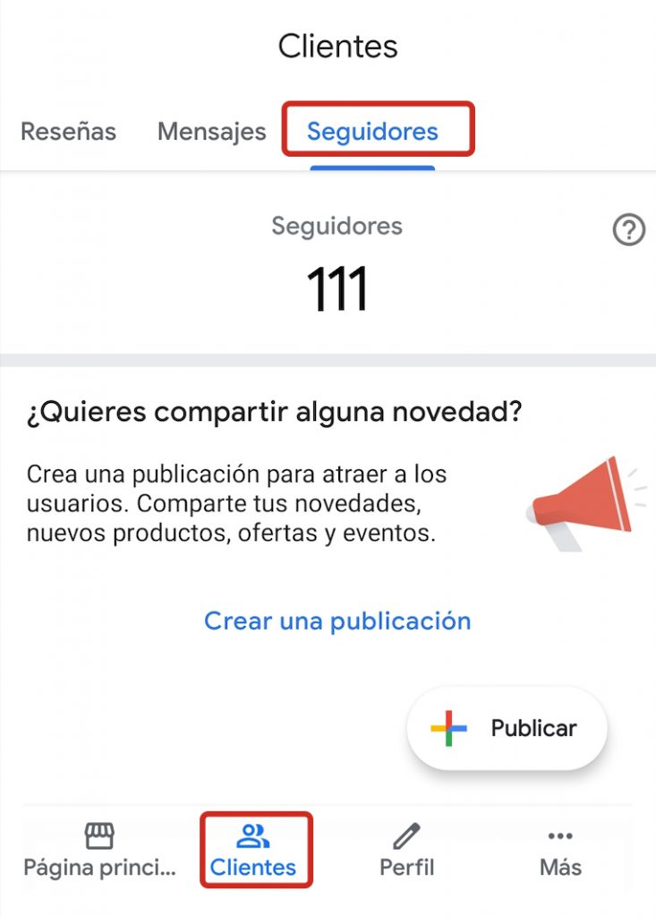 seguidores en google my business