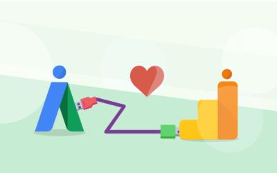 Cómo vincular tus cuentas de Google Adwords & Google Analytics
